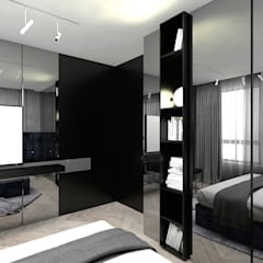 ANTHOLOGY 2018   Wnętrza apartamentu: styl , w kategorii Sypialnia zaprojektowany przez ARTDESIGN architektura wnętrz