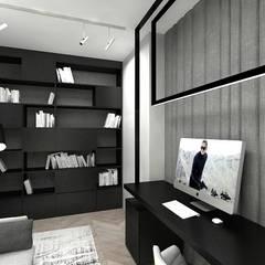 wnętrze pokoju do pracy: styl , w kategorii Domowe biuro i gabinet zaprojektowany przez ARTDESIGN architektura wnętrz