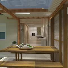 Reihenhaus von Studio G - Arquitetura e Design