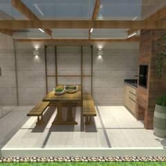 Nhà có sân thượng by Studio G - Arquitetura e Design