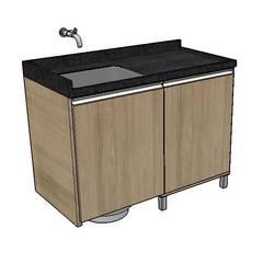 Cocinas equipadas de estilo  por Studio G - Arquitetura e Design