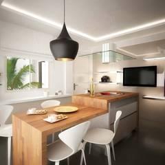 ANTE MİMARLIK  – Mamurbaba 1 Villa:  tarz Mutfak üniteleri