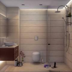 ANTE MİMARLIK  – Yunus E. Evi:  tarz Banyo
