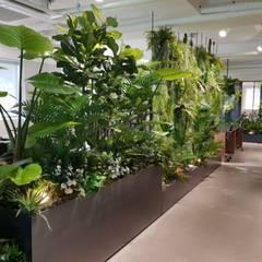 Edificios de oficinas de estilo  por (주)더숲