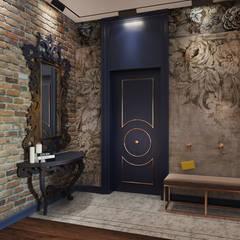 Corridor & hallway by ATM interior