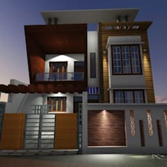Passive house by GMDS Gyan Manjusha Design Studio