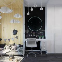 Cuarto para niñas de estilo  por Оксана Мухина