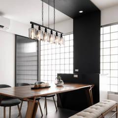 Dining room by 東江齋空間設計