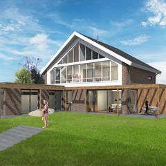 Villa met zwembad Lent:  Villa door ECO architecten
