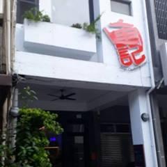奕禾軒 空間規劃 /工程設計의  일세대용 주택
