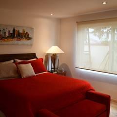 Dormitorios de estilo  por D01 arquitectura