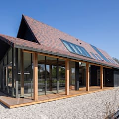 Wooden houses by Boon architecten