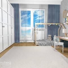 Mieszkanie Mokotów, Warszawa: styl , w kategorii Pokój dziecięcy zaprojektowany przez ANNA HIRSZBERG 'HIRSZBERG' PRACOWNIA ARCHITEKTONICZNA