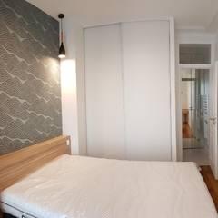 Appartement - Paris 7è - Atelier Florent: Chambre de style  par ATELIER FLORENT - Architectes d'Intérieur Paris