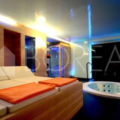 ((VENDITA)) Opicina, Trieste: villa di pregio con zona spa: Spa in stile in stile Moderno di Borea immobiliare