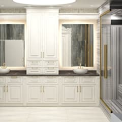 VOGUE MİMARLIK ATÖLYESİ – Nihat bey dairesi:  tarz Banyo