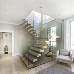 Hong Kong House:  Stairs by AR Design Studio