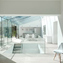 Glass House:  Conservatory by AR Design Studio