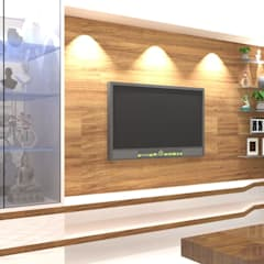 Living room by Honeybee Interior Designers