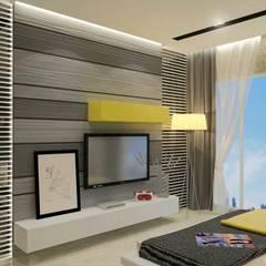 Interiors :  Bedroom by Honeybee Interior Designers