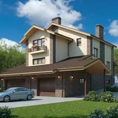Сиера_517 кв.м: Загородные дома в . Автор – Vesco Construction