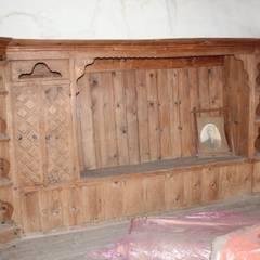 Restorizm Mimarlık Restorasyon Proje Taah. Ltd. Şti – Oda - Ahşap Dolap:  tarz Yatak Odası