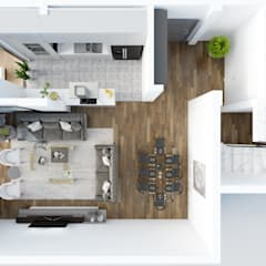 Rengin Mimarlık – Özel Villa Projesi - Silivri/İSTANBUL:  tarz Koridor ve Hol, Modern