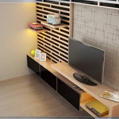 Teen bedroom by Ectic