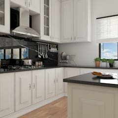 Kitchen set bergaya modern klasik:  Dapur built in by PT. Leeyaqat Karya Pratama