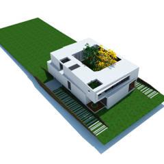 Casa Kn68: Casas ecológicas de estilo  por Rr+a  bureau de arquitectos