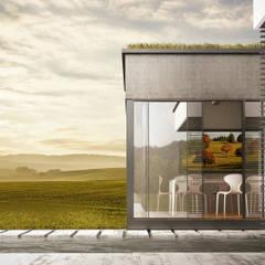 Timeless house: Villa in stile  di Mattia Quattrocchi / Visual