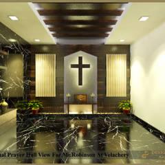 Mr. Robinson Residence At Velacheri, Chennai.:  Conservatory by Design port,Modern Wood Wood effect