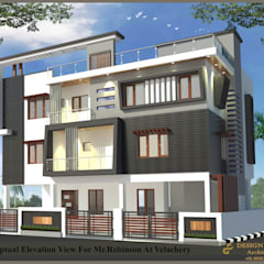 Bungalow oleh Design port, Modern Beton