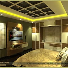 Design port의  작은 침실