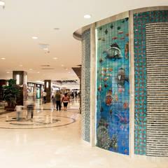Shoppings y centros comerciales de estilo  por DESTONE YAPI MALZEMELERİ SAN. TİC. LTD. ŞTİ.