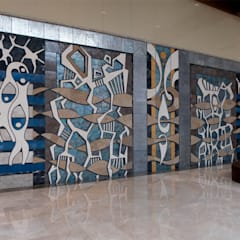 DESTONE YAPI MALZEMELERİ SAN. TİC. LTD. ŞTİ.  – Atlantis City Avm Sanat Panoları:  tarz Alışveriş Merkezleri