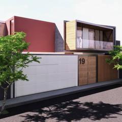 CASA ARICA - CHILE: Casas de estilo  por TECTONICA STUDIO SAC
