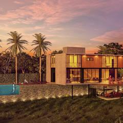 Paulo Stocco Arquiteto Rumah Modern Kaca