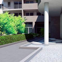 Residenza Michelangelo: Condominio in stile  di Studio Corbetta architettura e design