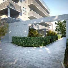 Parti comuni: Condominio in stile  di Studio Corbetta architettura e design