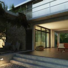 Rumah pasif oleh Rr+a  bureau de arquitectos - La Plata