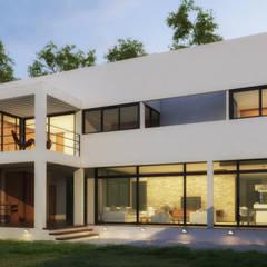 Casas ecológicas de estilo  por Rr+a  bureau de arquitectos - La Plata