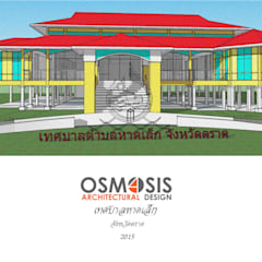 Villa by OSMOSIS Architectural Design