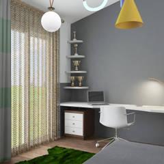 PRODİJİ DİZAYN – VILLA KEMALPAŞA:  tarz Erkek çocuk yatak odası