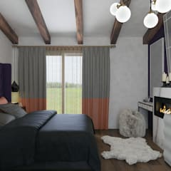 Small bedroom by PRODİJİ DİZAYN