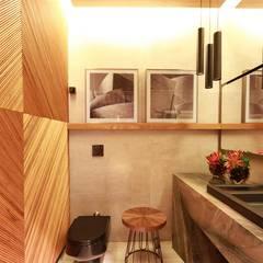 Lavabo Masculino: Banheiros  por ALESSANDRA  NAHAS arquitetura