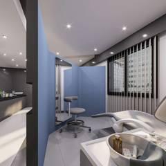 VERO CONCEPT MİMARLIK – Dr.Serkan Tüğen & Dr.Candan Mezili Klinik - İzmir:  tarz Klinikler