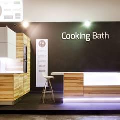 Proyecto Cooking Bath: Cocinas pequeñas de estilo  de PROYECTA ARQUITECTURA INTERIOR