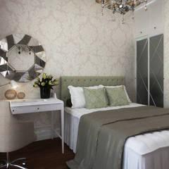 Phòng ngủ nhỏ by Студия дизайна 'АрхПредмет'