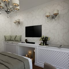 Small bedroom by Студия дизайна 'АрхПредмет'